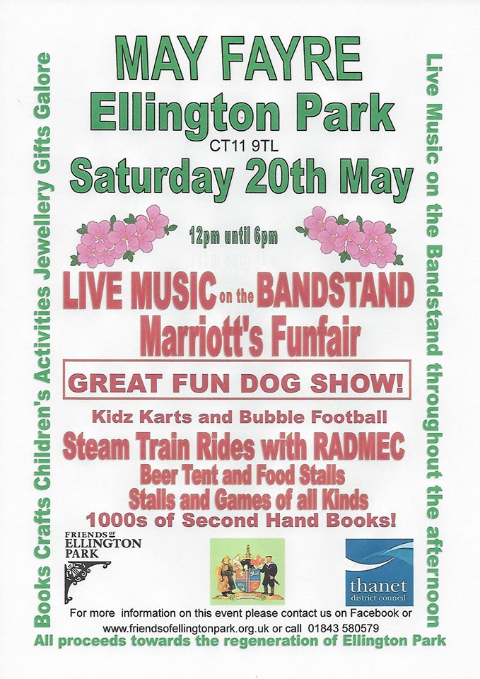 May Fayre Ellington Park - Visit Ramsgate