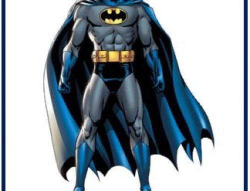 Batman at the Micro Museum