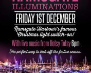 Christmas Harbour lights
