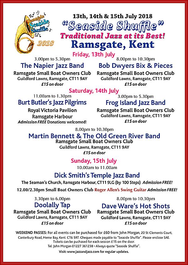 Ramsgate seaside shuffle 2018