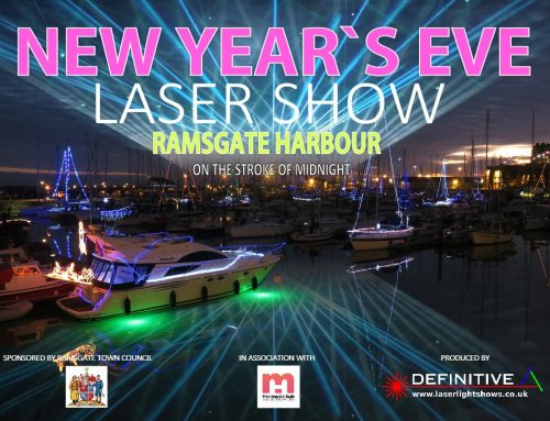 New Year's Eve Laser Show
