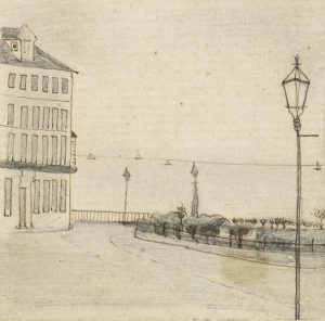 Van Gogh sketch in Ramsgate