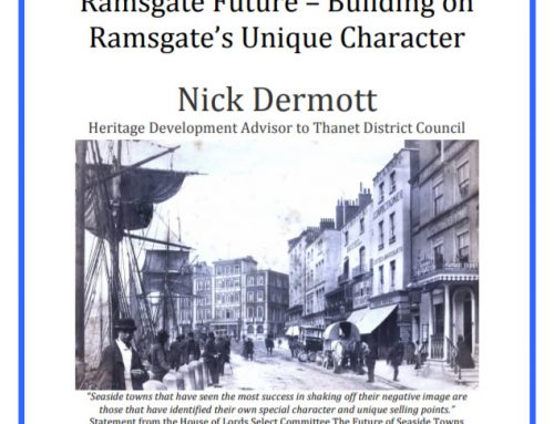 Ramsgate Future talk by Nick Dermott