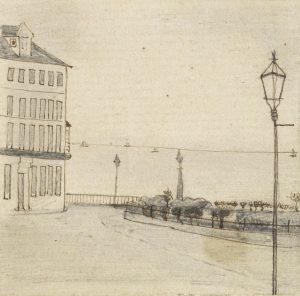 Van Gogh sketch in Ramsgate