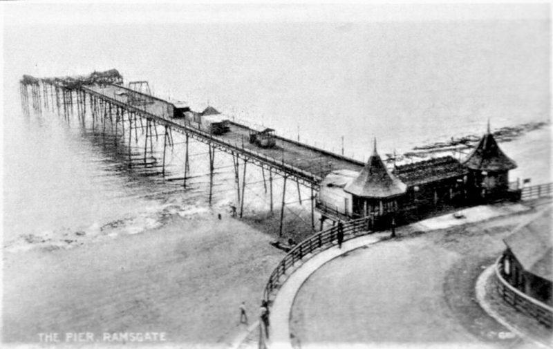 east pier showing switchback railway