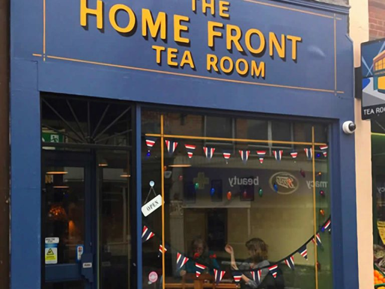 The Home Front Tea Room