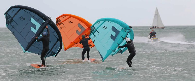 First ever British Freestyle Wing Foiling Championships takes place in Ramsgate
