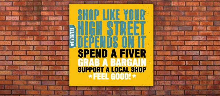 Love the Town you Live in! (and spend a fiver while you're at it!)